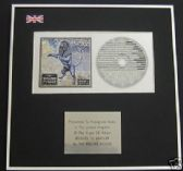 THE ROLLING STONES- CD Album Award - BRIDGES TO  BABYLON
